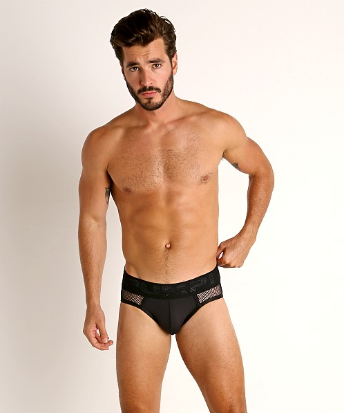 Pump! Switch Mesh Briefs Black