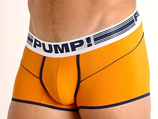 Pump! Varsity Free-Fit Micro Mesh Boxer Orange/Navy