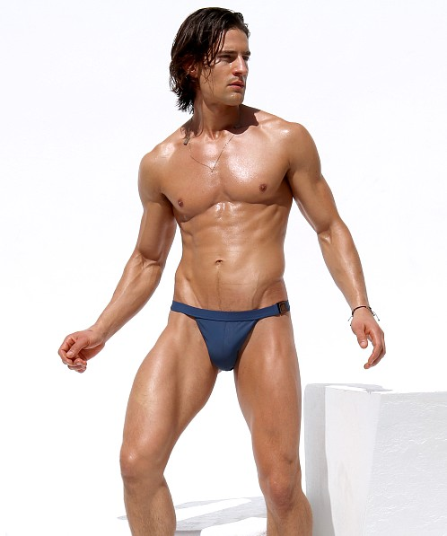Rufskin Buck Euro-Cut Swim Brief Indigo