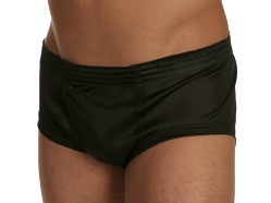 Players Black 100% Nylon Brief