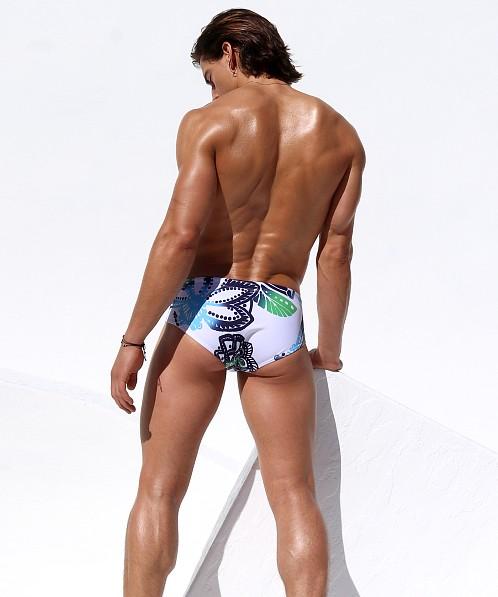 Rufskin Macaw Mini Sunga Swim Brief Print
