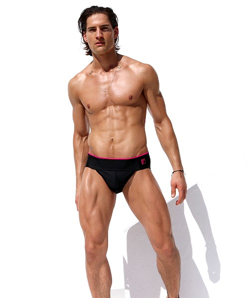 Rufskin NYC Swim Brief Black
