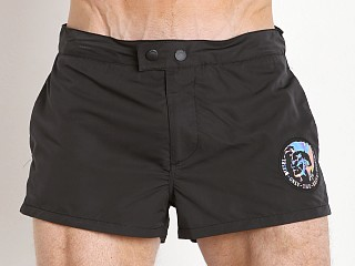 Diesel Sandyred Peachskin Swim Shorts Black