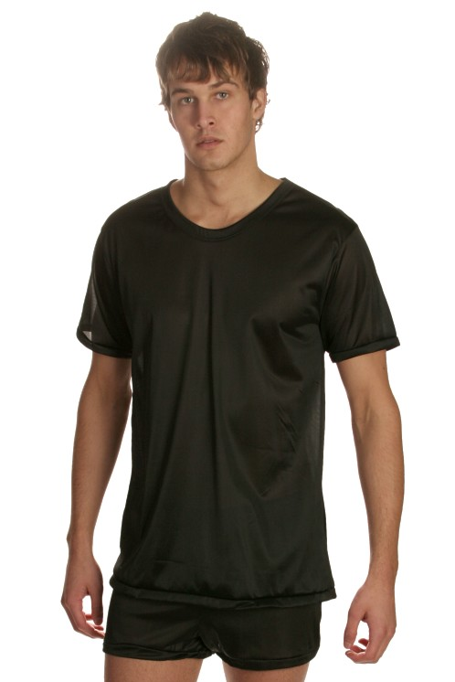 Players Black 100% Nylon Tee