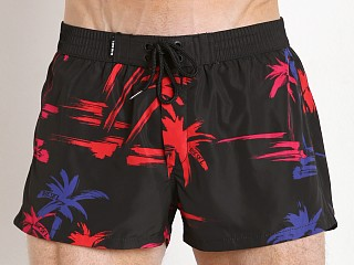 Complete the look: Diesel Sandy-E Photoprinted Swim Shorts Black