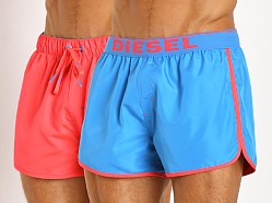 Diesel Revy Reversible Swim Shorts Baby Blue