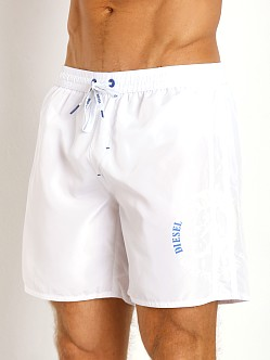 Diesel Mark-E Mohawk Swim Boxer White
