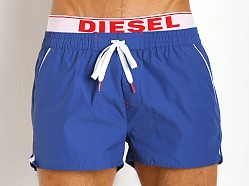 Diesel Barrely Neon Swim Shorts Navy