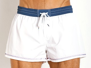 Diesel Coralrif-E Sleek Swim Shorts White