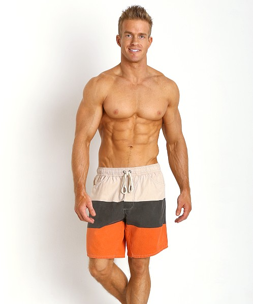 Diesel Wayky Out Of The Water Shorts Red