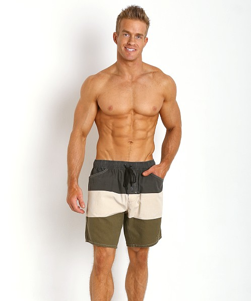 Diesel Wayky Out Of The Water Shorts Black