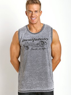Diesel Adamy Beach Tank Top Black