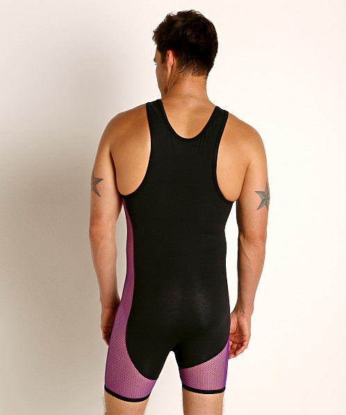 Go Softwear Hard Core XXX Mesh Singlet Purple/Black