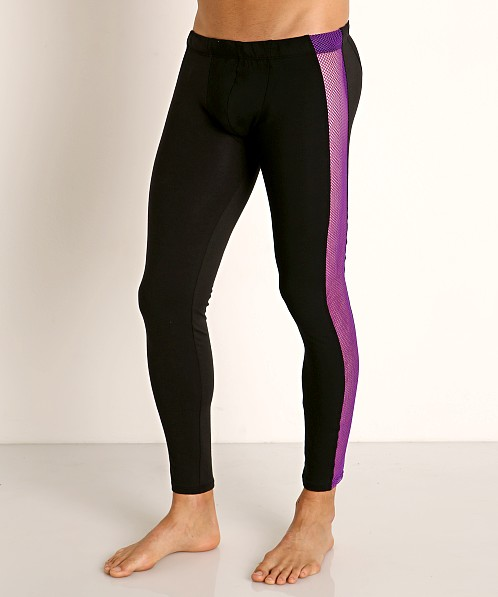 Go Softwear Hard Core XXX Mesh Tights Purple/Black