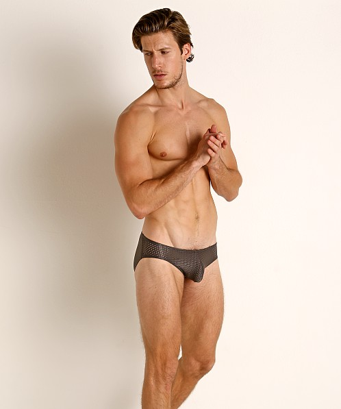 McKillop Expose Mesh Brief Dark Grey