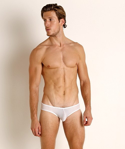 McKillop Expose Mesh Brief White
