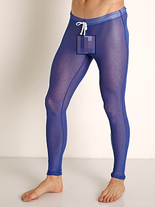 McKillop Sleek Seduce Mesh Lounge Tights Royal