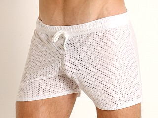 McKillop Expose Lycra Shade Shorts White