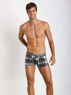Hugo Boss Boxer Shorts Grey Plaid