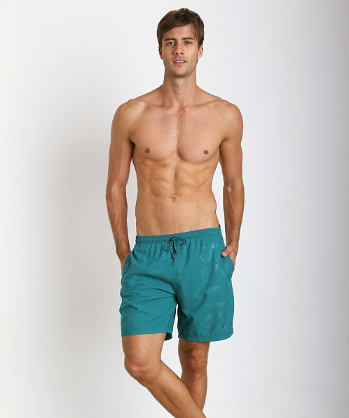 26b71cda9 Hugo Boss Orca Swim Trunks Royal Teal 50264656-305 at International Jock
