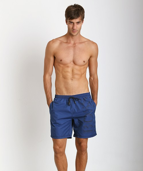 Hugo Boss Killifish Swimsuit Royal Blue