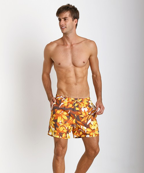 fdc9e11162 Hugo Boss Piranha Swim Shorts Orange Print 50264657-755 at International  Jock