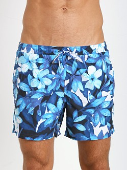 Hugo Boss Piranha Swim Shorts Blue Print
