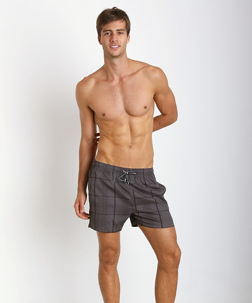 Hugo Boss Catshark Swim Shorts Black Print
