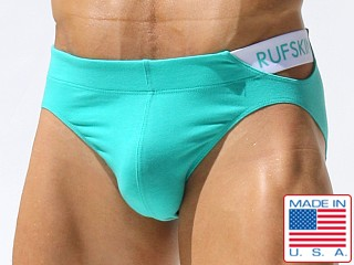 Rufskin Flamingo Cotton Spandex Brief Mint