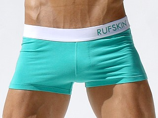 Complete the look: Rufskin Palm Cotton Spandex Square Cut Trunk Mint