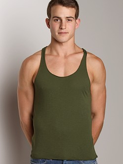LASC Sixties String Tank Top Army