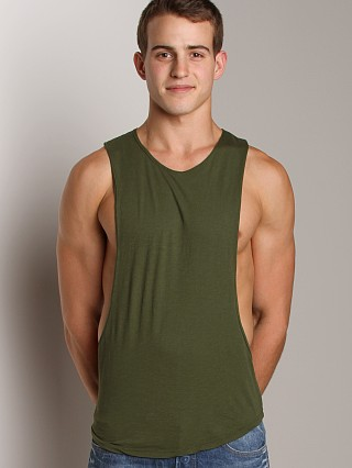 You may also like: LASC Deep Cut Out Tee Army