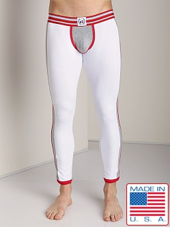 Timoteo Varsity Relay Pant White/Grey/Red