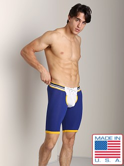 Timoteo Rugby Backless Football Short White/Blue