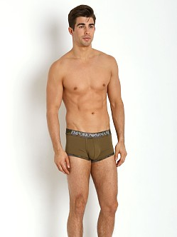 Emporio Armani Camouflage Piping Trunk Army