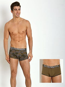 Emporio Armani Camouflage 2-Pack Trunk Army