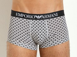 Emporio Armani Printed Fantasy Stretch Cotton Trunk Geometric