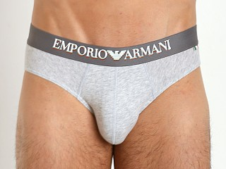 Emporio Armani Italian Flag Stretch Cotton Brief Grey
