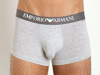 Emporio Armani Italian Flag Stretch Cotton Trunk Grey