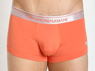 Emporio Armani Logo Stretch Cotton Trunk Lobster