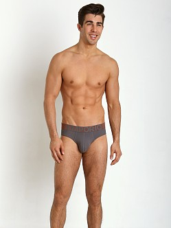 Emporio Armani Eagle Stretch Cotton Brief Ash Grey