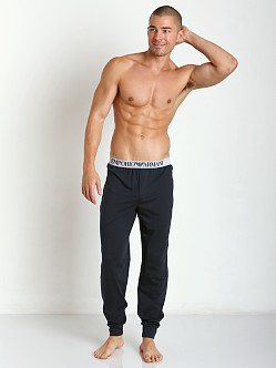 Emporio Armani 100% Cotton Lounge Pants Marine