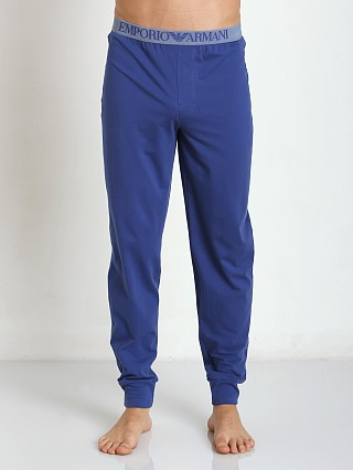 Emporio Armani 100% Cotton Lounge Pants Blue Ink