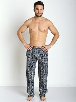 Emporio Armani 100% Cotton Lounge Pants Dark Blue