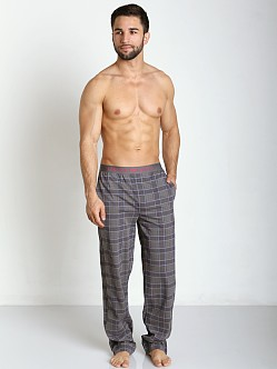 Emporio Armani 100% Cotton Lounge Pants Charcoal