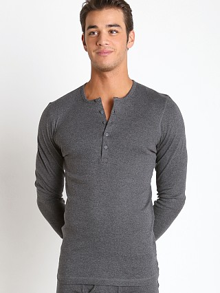 You may also like: 2xist Essential Long Sleeve Henley Charcoal