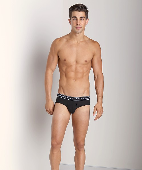 Hugo Boss Ultra Soft Modal Hip Brief Black