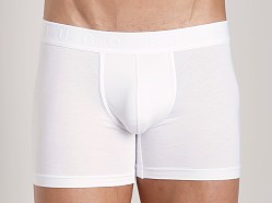 Hugo Boss Balance Cotton Modal Cyclist White