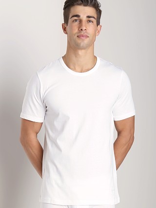 Hugo Boss Pure Cotton Crew Neck Shirt 3 Pack White