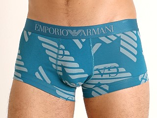 Model in baltic eagles/dolphin Emporio Armani All Over Eagle Trunk